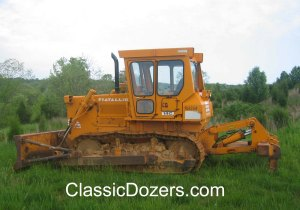 Fiat-Allis 14C dozer 002, Warrenton, VA