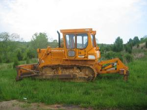 Fiat-Allis 14C dozer, Warrenton, VA