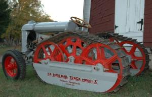 Fordson tractor with Hadfield-Penfield Rigid-Rail Model X tracks (1926), Ed Bezanson Photo