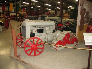 Fordson with CAHL half-track conversion (1923), Heidrick Ag Museum, California