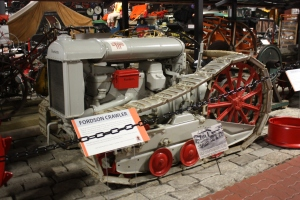 Fordson with Trackson crawler conversion, Coles Transportation Museum, Bangor, ME 077