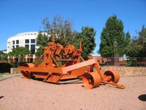 LeTourneau Gondola scraper (1927). LeTourneau University, Longview, Texas
