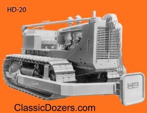 HD-20 Baker Allis-Chalmers -3b