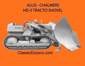 HD-5 V-blade Allis-Chalmers- 4a