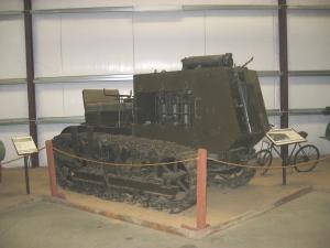 Holt 10-ton Armored tractor (1917) Heidrick Museum California2005 119