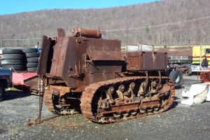 Holt 10-Ton Armored tractor from World War I