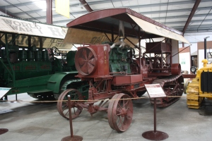 Holt 45 Model B tractor (1914), Heidrick Ag Musuem, Woodland, CA 2014 030