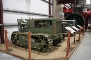 Holt 5-Ton tractor (1920), Heidrick Ag Museum, Woodland, CA 2014  082110