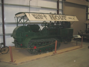Holt Model 120 (1917) Heidrick Museum, California 2005 118