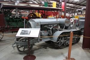 Holt Model K Midget-18 tractor (1915), Heidrick Ag Musuem, Woodland, CA, 2014  039