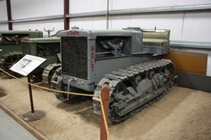 Holt Model T-29 tractor (1923), Heidrick Ag Musuem, Woodland, CA 2014  041