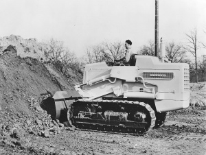 International Harvester Model H-12 track loader, Pit & Quarry