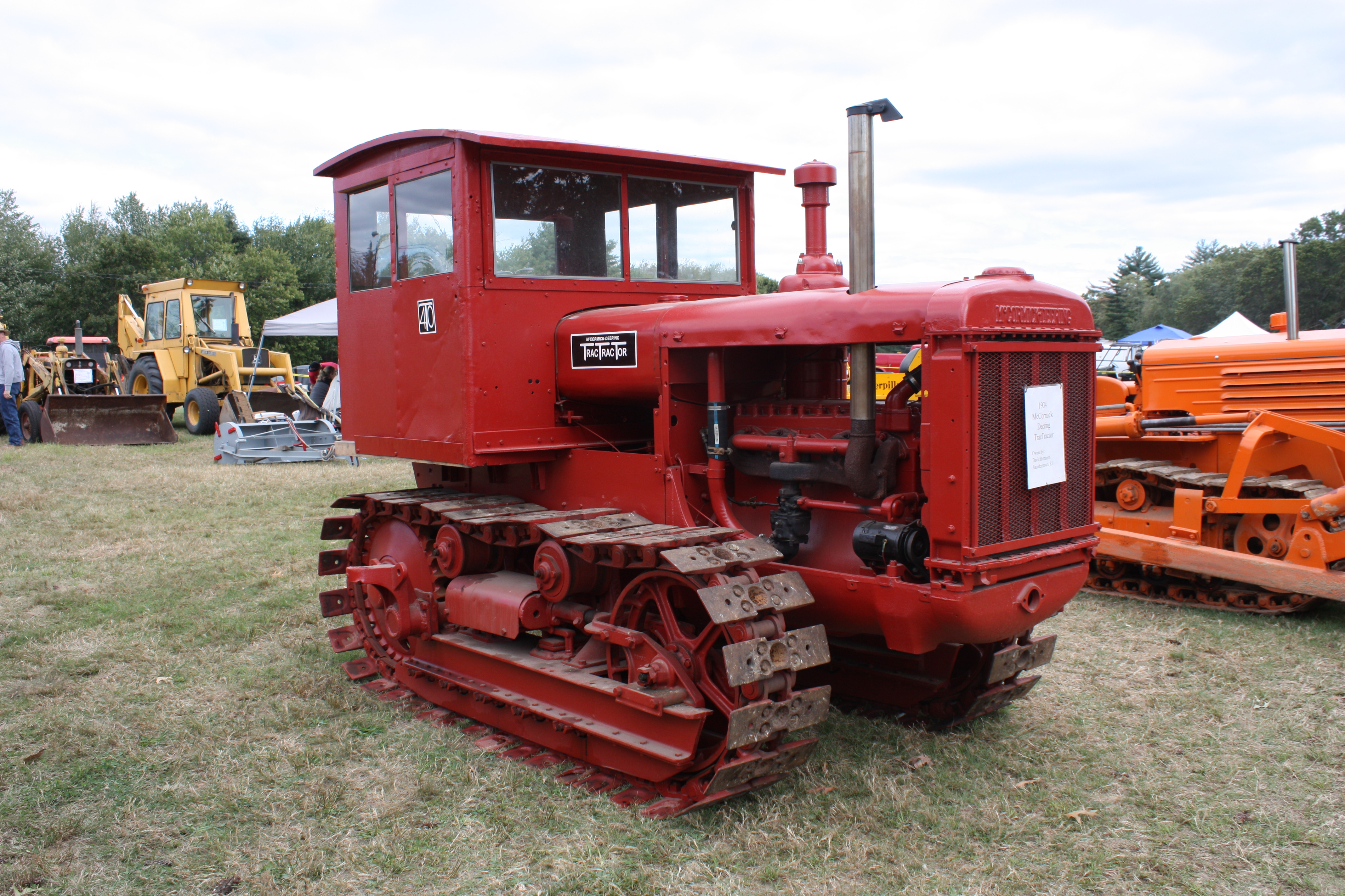 Old International Harvester : International harvester also see wheel dozers « classic