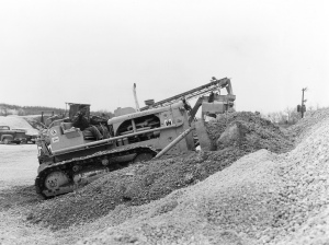 International Harvester TD-15 dozer (1961), Pit & Quarry