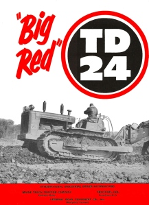 International Harvester TD-24 tractor, Edgar Browning Image