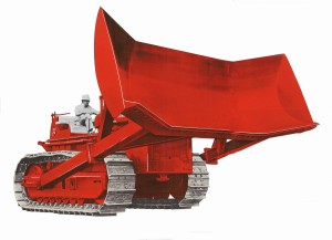 Drott Manufacturing Company International-harvester-td-24-with-coal-blade-edgar-browning-image-11aaa