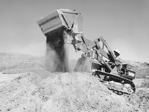 International Harvester TD-6 with Drott 4-in-1 loader (1954), Pit & Quarry