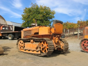 Model AD tractor (1941), Burell School Winery, Los Gatos, Calif.  2005 023