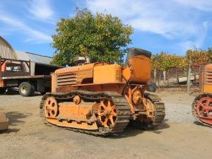 Model AD tractor (1941), Burell School Winery, Los Gatos, Calif.  2005 023