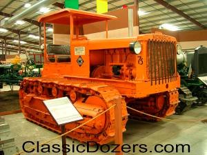 Monarch 75 tractor, Heidrick Ag Museum