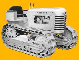 Oliver Model OC-4 tractor (1956), Edgar Browning Image