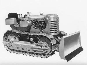 Oliver OC-4 dozer with Anderson IMP blade, Pit & Quarry