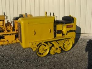 Schramm 60 crawler Pneumatractor (1948), HCEA Show, 2009, IMG_7604