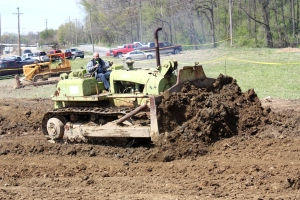 Terex 82-30 dozer, Lakeside Sand & Gravel, Ohio
