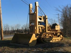 Traxcavator T-4 on D-4 tractor, Maryland, Mario Photo 7IMG_8399