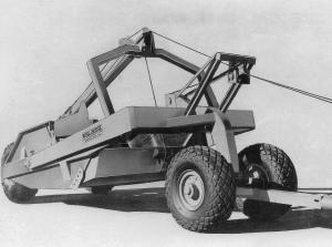 Wooldridge Model BB-85 scraper from 1950