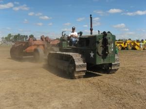 Cat D-7 (6T) tractor (1948) HCEA Show September 2009 261IMG_7976