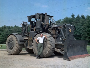 Caterpillar 830MB wheel dozer, Ft. belvoir, VA, Edgar Browning Image