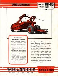 Wooldridge Model BB-85 towed scraper. HCEA Archives