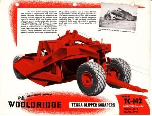 Wooldridge Model TC-142 towed scraper. HCEA Archives